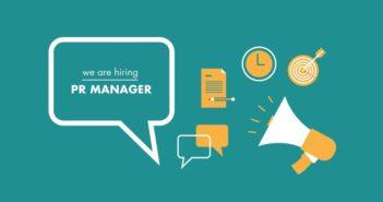 Шукаємо в команду PR-менеджера/менеджерку!